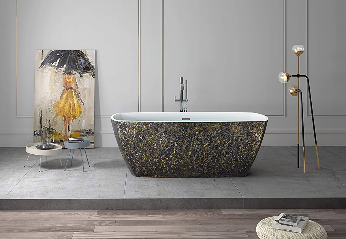 luxury-black-and-gold-freestanding-bathtub-artistic-design-for-tuscan-french-country-bathroom-themes