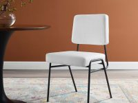 minimalist-modern-inexpensive-upholstered-dining-chairs-set-stain-resistant-white-upholstery-black-metal-frame