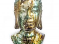 modern-buddha-head-statue-colorful-pearlescent-glaze-teal-and-orange-coloration-14-inches-tall-glossy-finish-unique-spiritual-decor-ideas