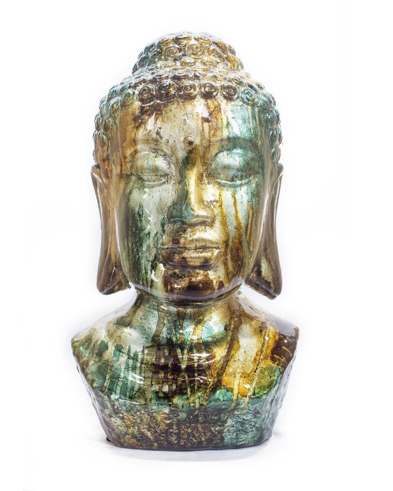 modern-buddha-head-statue-colorful-pearlescent-glaze-teal-and-orange-coloration-14-inches-tall-glossy-finish-unique-spiritual-decor-ideas