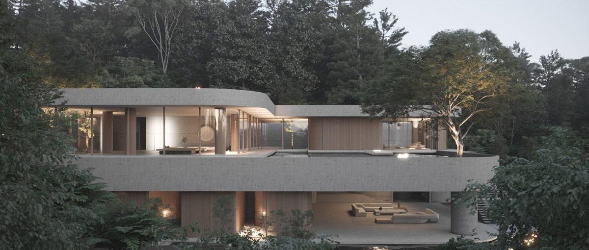modern-concrete-glass-wood-house-exterior