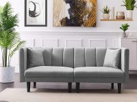 modern-small-sofa-bed-grey-upholstery-with-channel-tufted-backrest-73-inch-couch-space-saving-apartment-furniture-inspiration