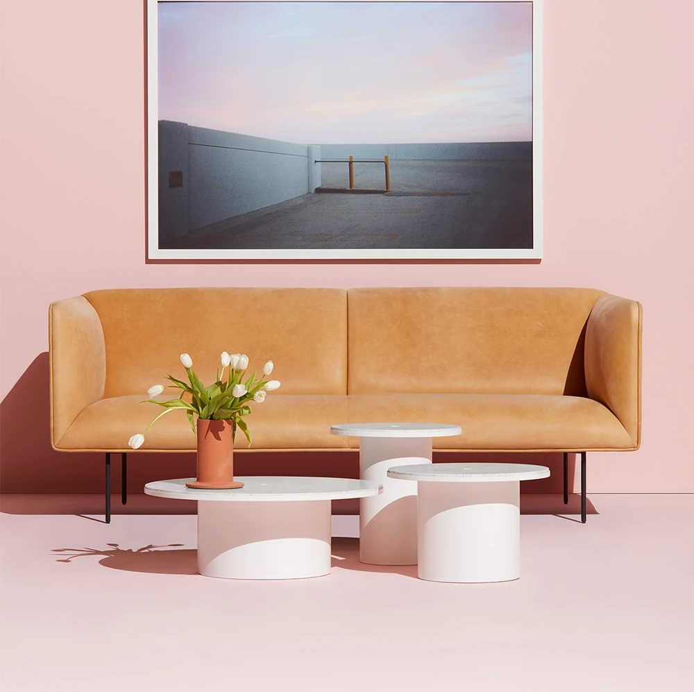 modern-small-sofa-for-sale-online-camel-leather-upholstery-padded-spring-bench-seat-thin-metal-legs-70-inch-couch-for-living-room-office