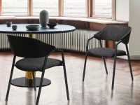 modern-upholstered-dining-chairs-available-for-sale-online-charcoal-upholstery-black-steel-frame-padded-backrest-1