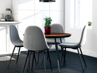 modern-upholstered-dining-chairs-set-of-4-light-grey-fabric-black-tapered-legs-modern-furniture-for-stylish-dining-room-ideas