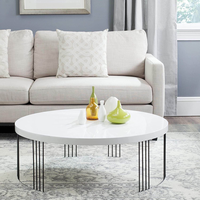 modern-white-lacquer-coffee-table-unique-black-wire-base-artistic-contemporary-furniture-ideas