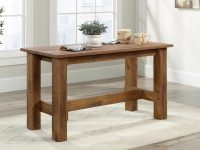narrow-farmhouse-dining-table-for-small-spaces-eat-in-kitchen-furniture-seats-four-warm-wood-finish