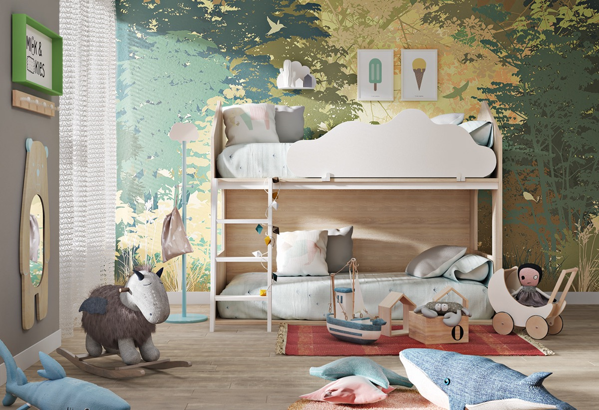 nature-themed-kids-room