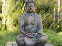 outdoor-buddha-statue-garden-meditation-ideas-weather-resistant-polyresin-construction-natural-bronze-coloration