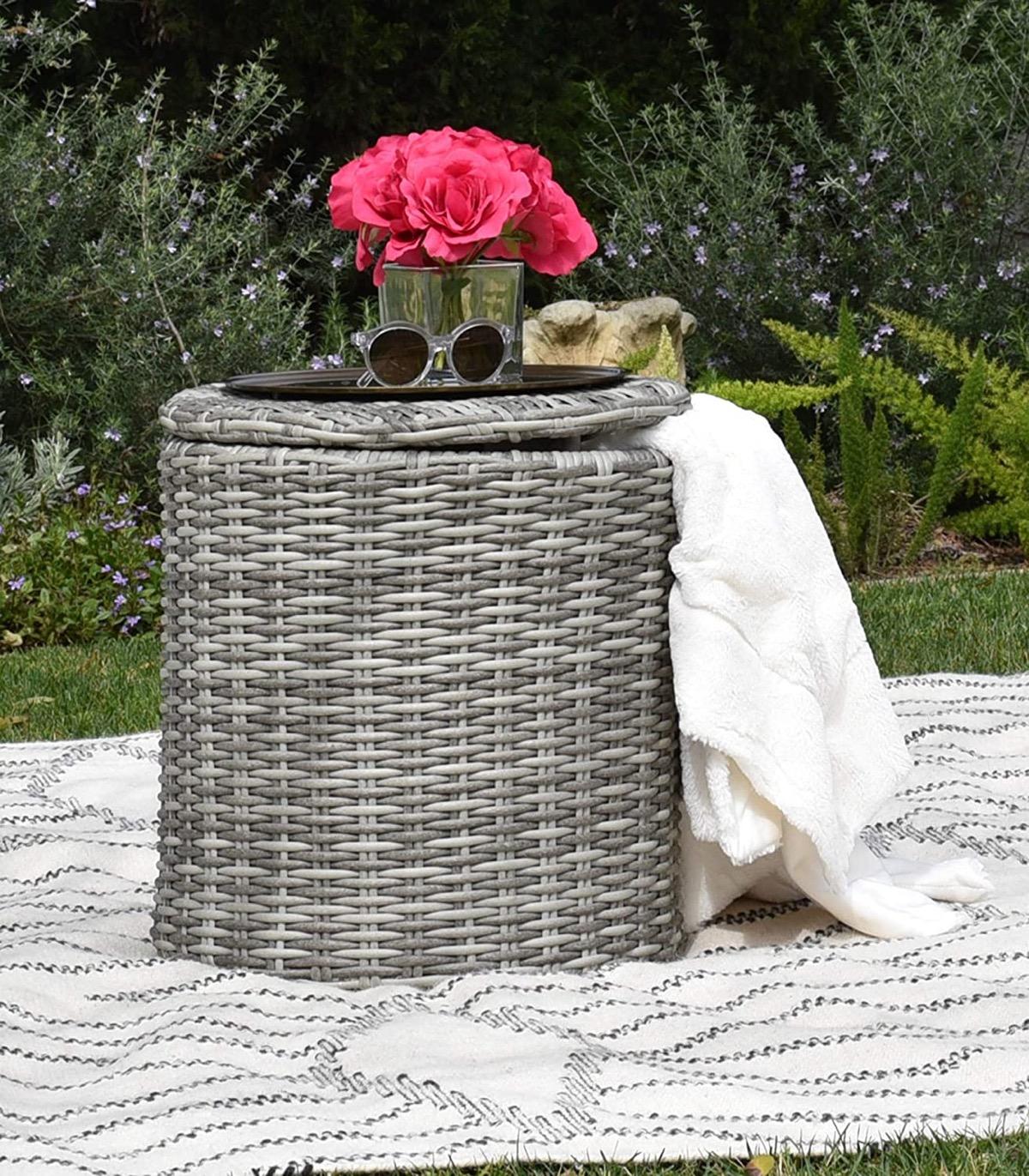 outdoor-wicker-side-table
