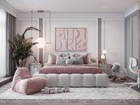 pink-and-grey-kids-room