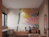 pink-and-yellow-kids-room-decor