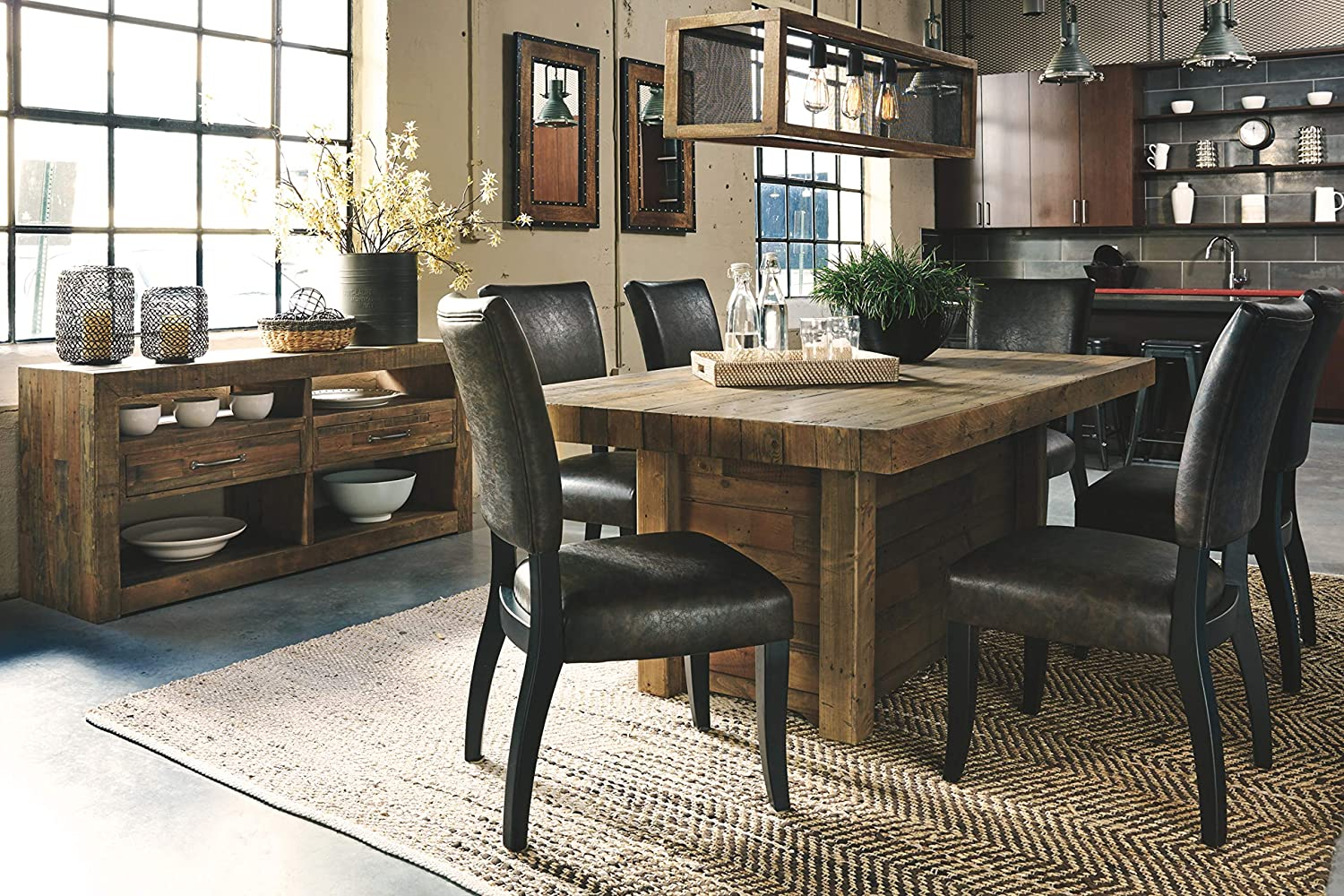 reclaimed-wood-farmhouse-dining-table-thick-butcher-block-top-76-inch-tabletop-unique-rustic-furniture-for-sale-online