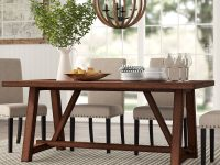rustic-farmhouse-dining-table-for-sale-online-dark-finish-trestle-base-seats-six-versatile-solid-wood-furniture