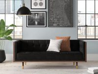 small-black-leather-tuxedo-sofa-space-saving-seating-ideas-for-apartment-home-office-bedroom