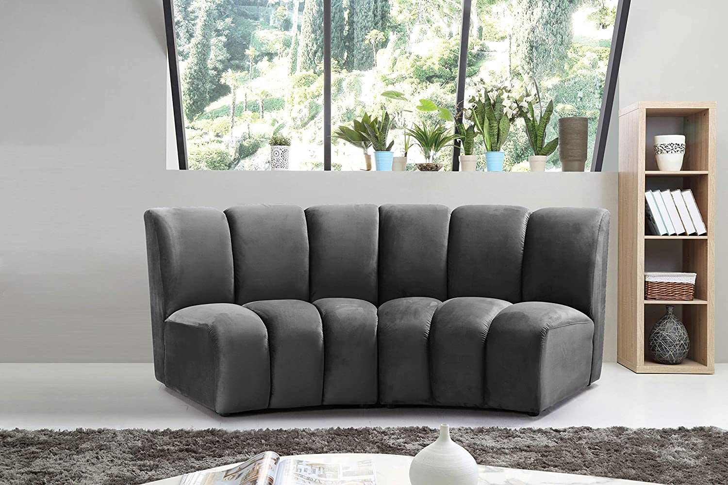 small-curved-sofa-with-channel-tufting-unique-modern-low-profile-furniture-for-sale-online-modular-sectional-component