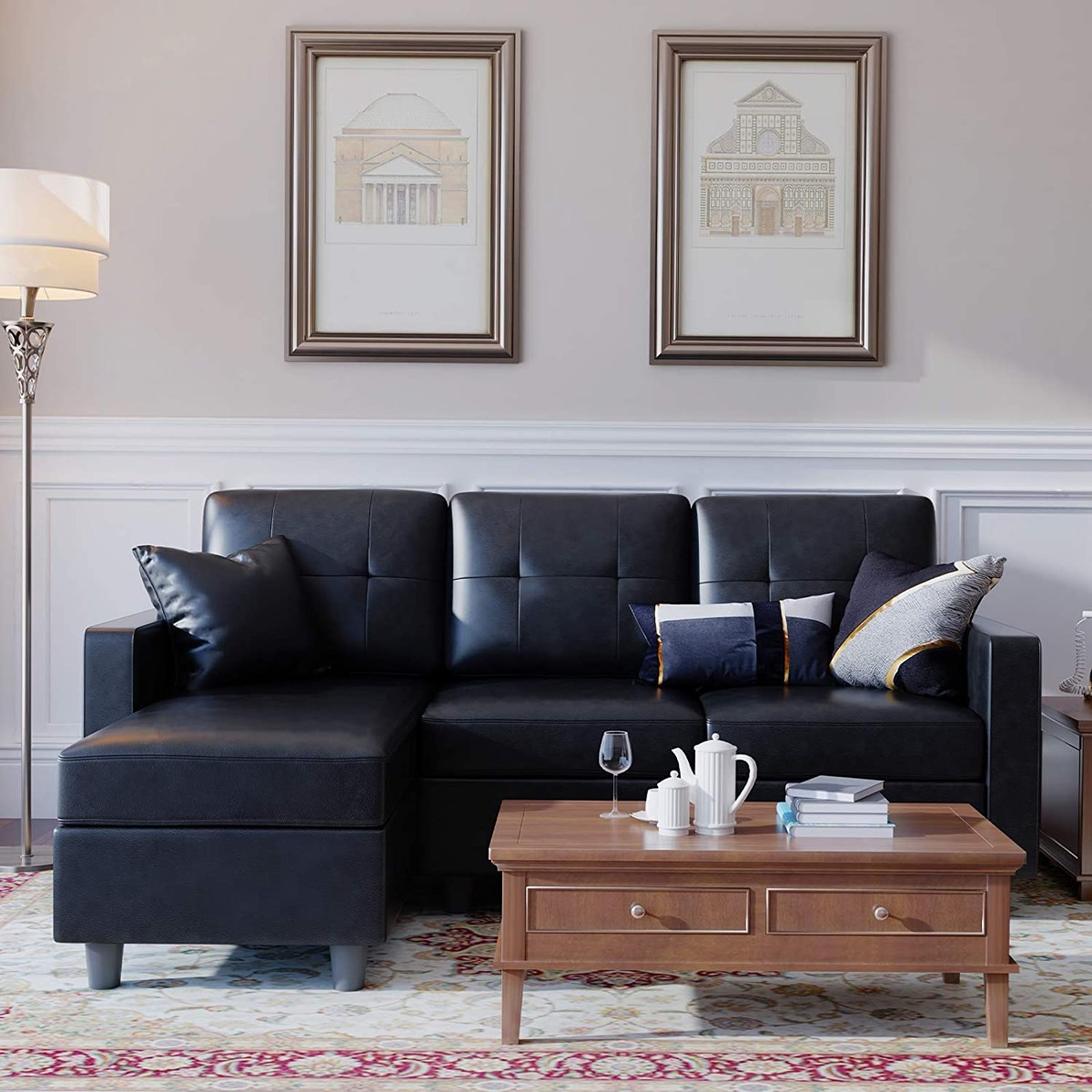 small-leather-sectional-sofa