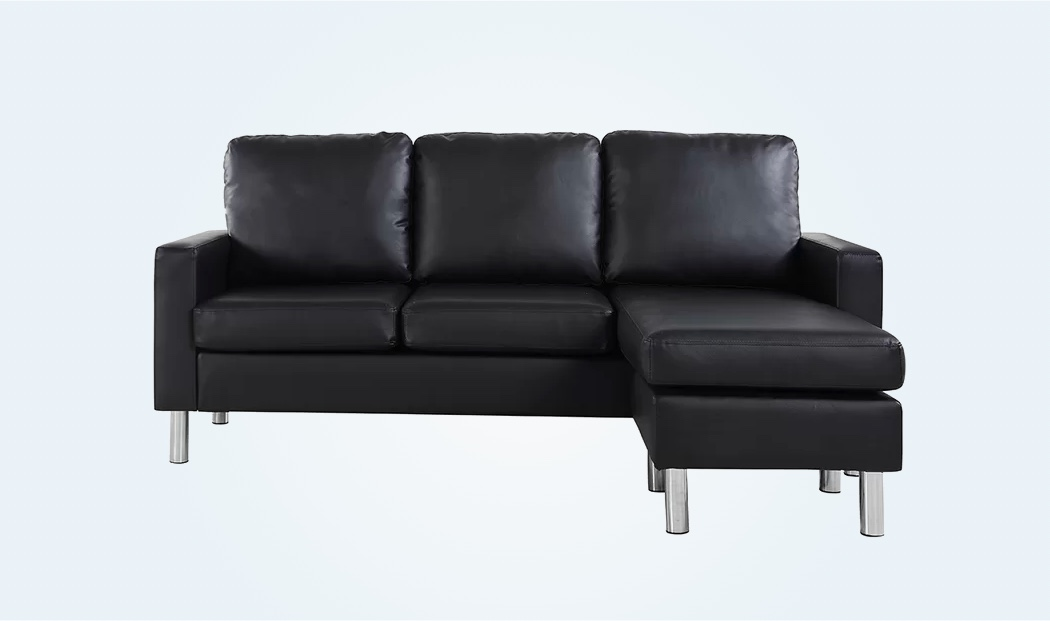 small-sectional-sofa-leather