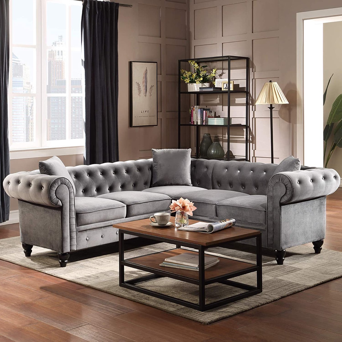 small-spaces-sectional-sofa