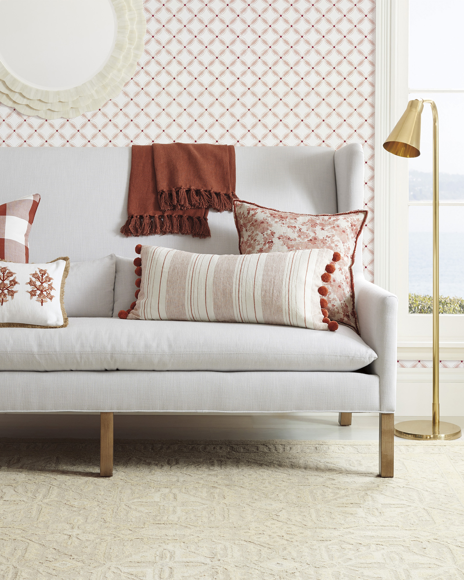 small-white-sofa-with-high-wing-back-classic-interior-design-for-small-floor-plan-white-upholstery-72-inch-design