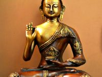 solid-brass-buddha-statue-genuine-metal-heirloom-quality-buddhist-art-abhayamudra-beautiful-meditation-area-ideas-and-inspiration-for-inner-peace