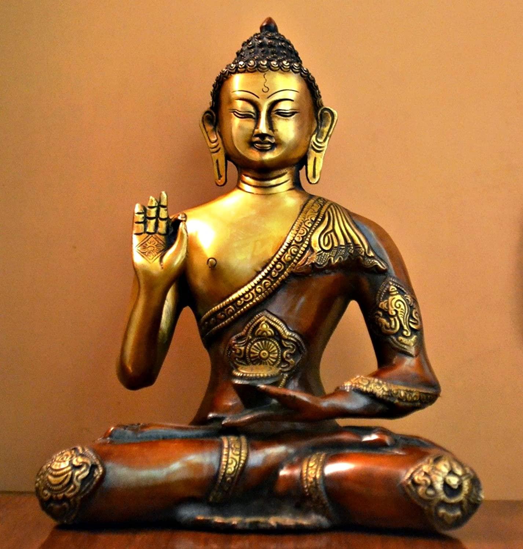 solid-brass-buddha-statue-genuine-metal-heirloom-quality-buddhist-art-abhayamudra-beautiful-meditation-area-ideas-and-inspiration-for-inner-peace