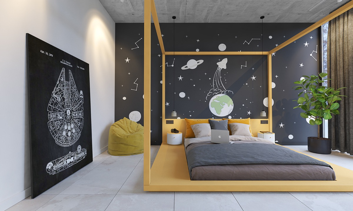 space-themed-kids-room