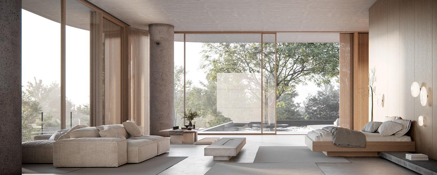 spacious-modern-minimalist-bedroom