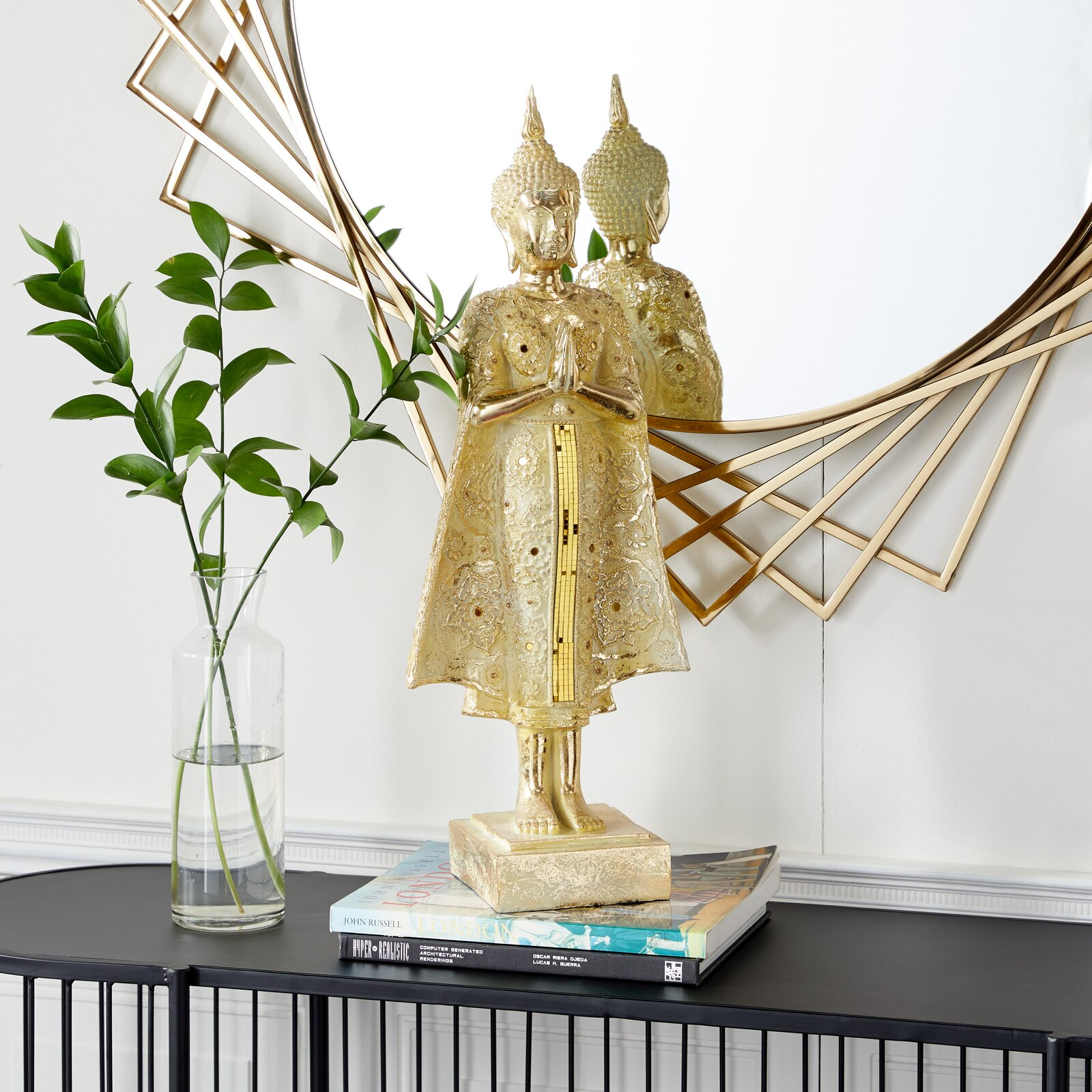 standing-buddha-statue-beautiful-gold-finish-and-ivory-details-25-inch-tall-spiritual-decor-for-modern-interior-design
