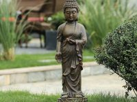 standing-buddha-statue-lightweight-small-garden-decoration-ideas-for-spiritual-decor