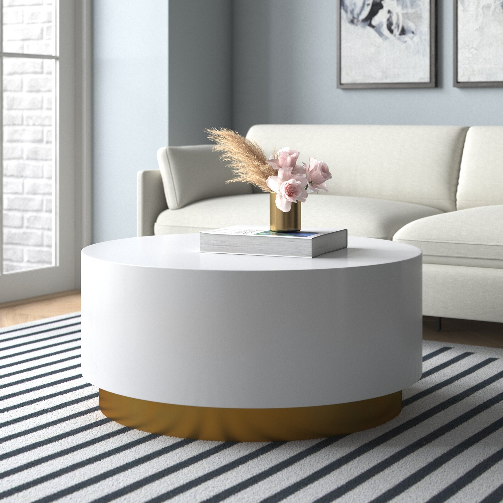 thick-round-white-and-gold-coffee-table-minimalistic-luxury-furniture-for-sale-online-unique-living-room-design-inspiration