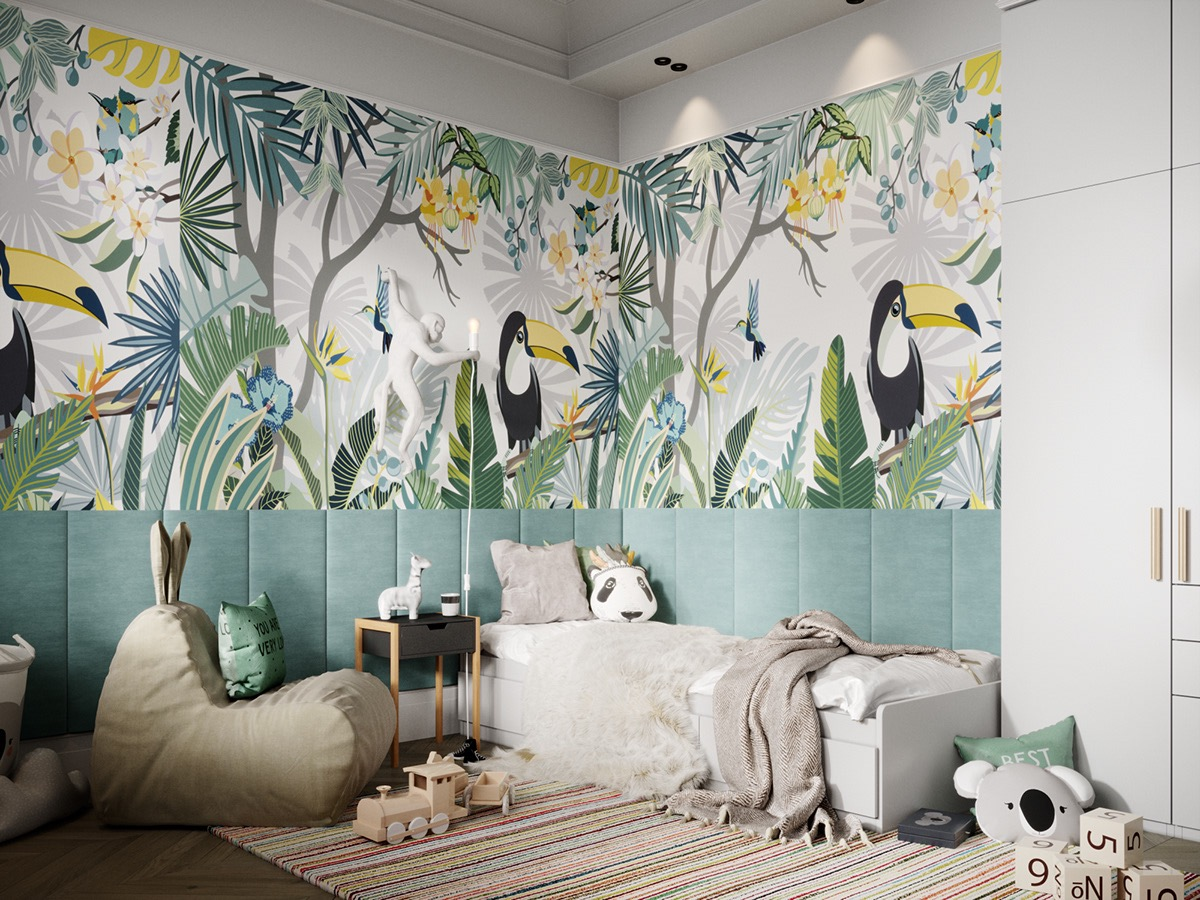 tropical-kids-room
