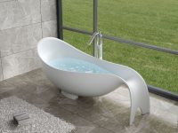 unique-luxury-freestanding-bathtub-with-warm-touch-stone-resin-construction-for-super-modern-bathroom-themes