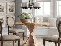 unique-solid-wood-farmhouse-dining-table-decorative-pedestal-base-solid-fir-construction-48-inch-diameter