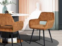 upholstered-dining-chairs-with-arms-faux-suede-open-backrest-armrests-tapered-black-legs-mid-century-retro-furniture-for-dining-room