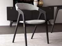 upholstered-dining-room-chairs-with-arms-designer-furniture-for-dining-room-light-grey-upholstery-sculptural-solid-wood-base