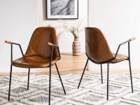 upholstered-dining-room-chairs-with-arms-vegan-faux-leather-metal-base-wood-capped-armrests-unique-furniture-for-mid-century-modern-industrial