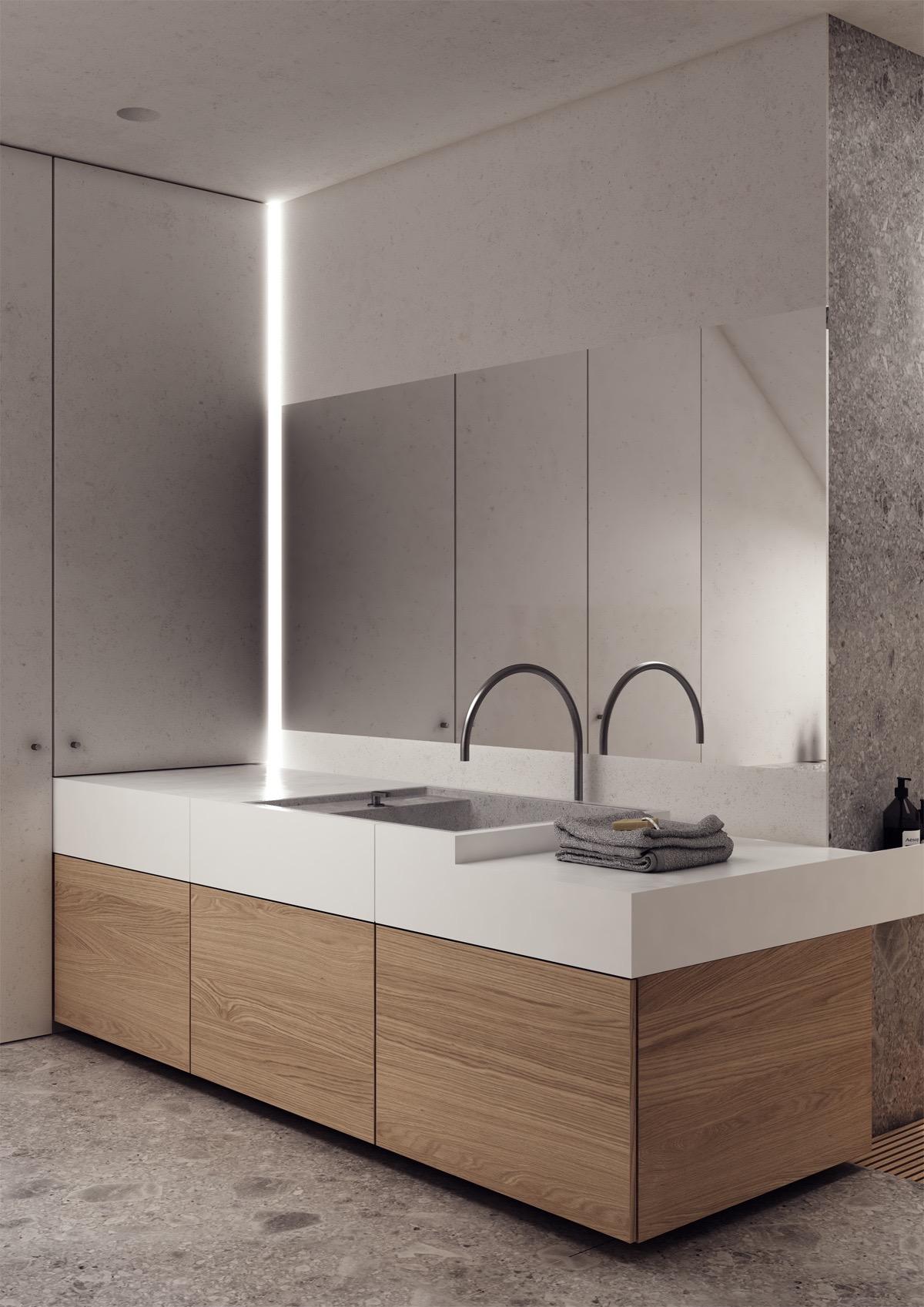 white-and-wood-vanity-unit