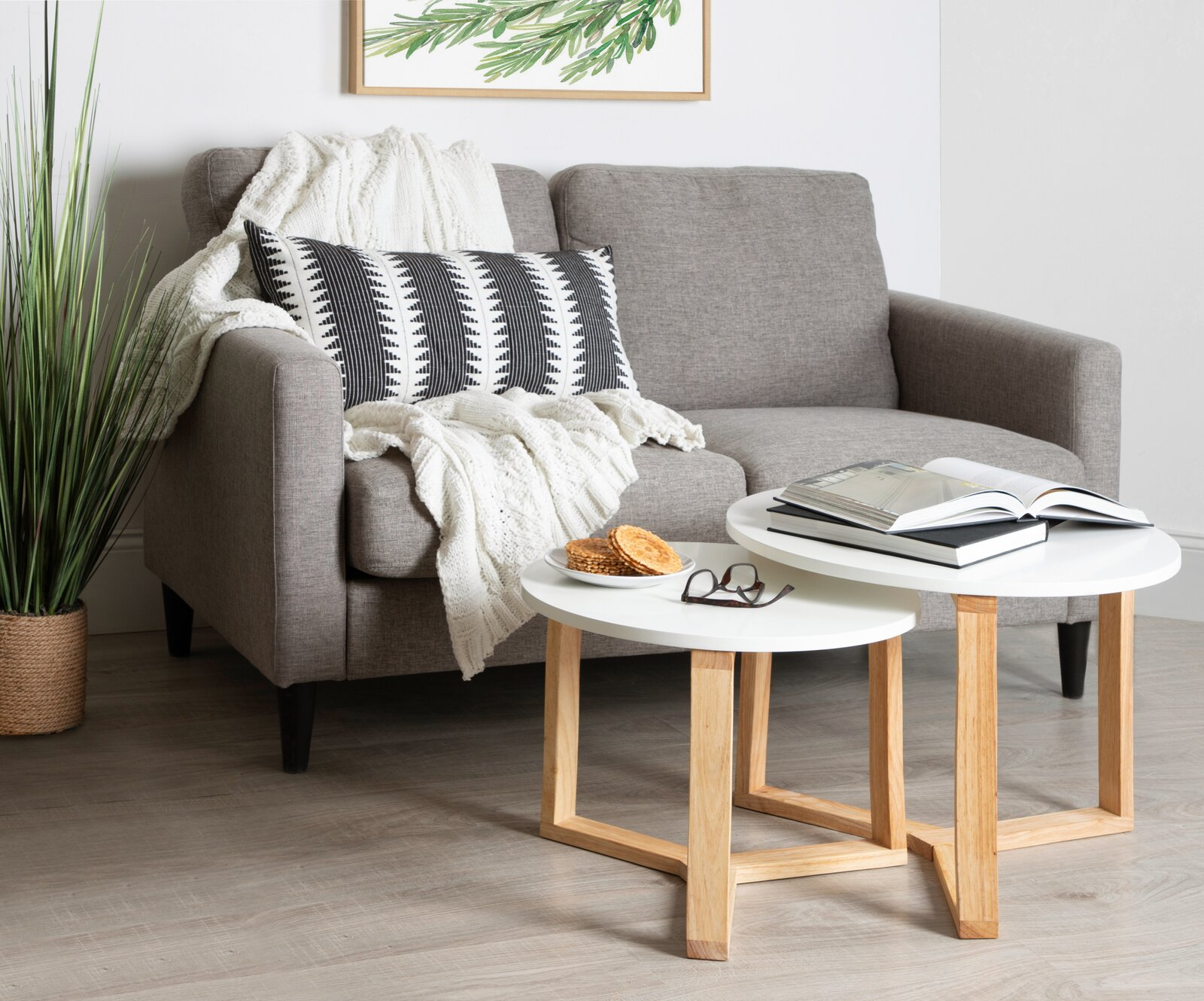 white-coffee-table-set-with-natural-wood-base-cheap-scandinavian-furniture-for-sale