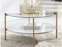 white-coffee-table-with-glass-top-faux-marble-lower-shelf-brass-frame-round-tabletop-affordable-furniture-with-a-luxury-look