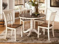 white-farmhouse-dining-table-dark-wood-top-42-inch-round-tabletop-with-pedestal-base-seats-five