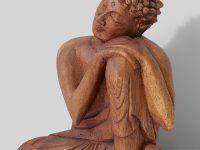 wood-buddha-statue-hand-carved-teak-wood-10-inch-sculpture-for-buddhist-interior-decor-meditation-corner-decoration