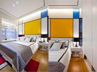 Mondrian-inspired-bedroom