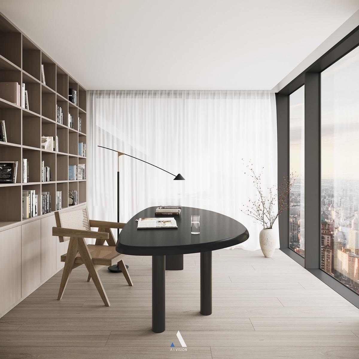 Reuleaux-triangle-desk