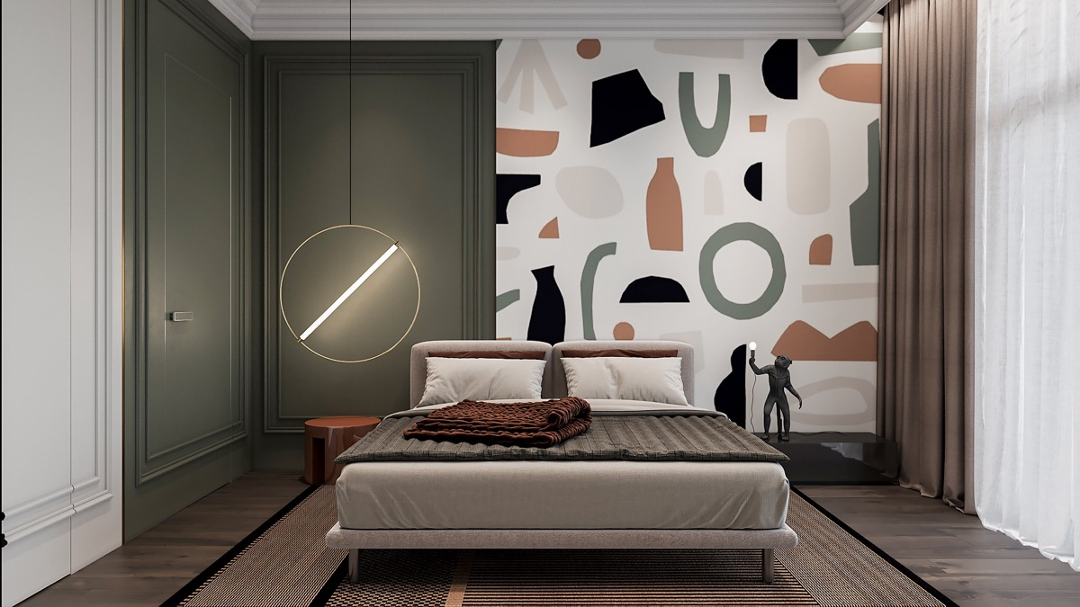 bedroom-wall-mural