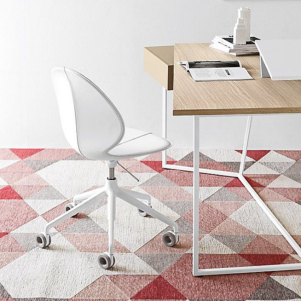 designer-small-white-office-chair-work-from-home-furniture-minimalistic-unique-white-base-grey-wheels