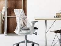 designer-white-office-chair-with-mesh-back-flexible-polymer-super-adjustable-home-office-furniture-ideas-and-inspiration
