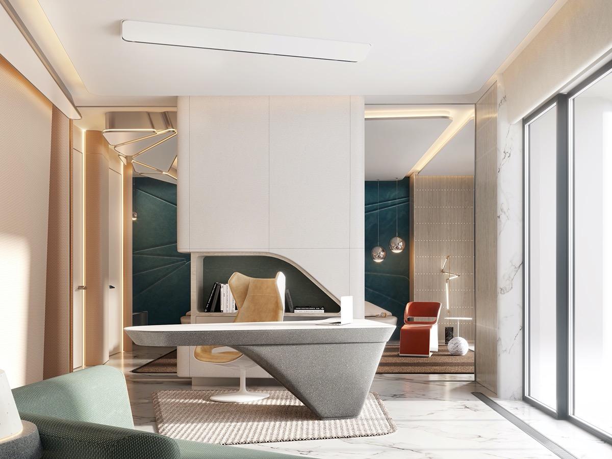 futuristic-desk