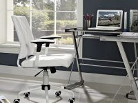 inexpensive-tufted-white-office-chair-adjustable-armrests-white-frame-minimalist-work-from-home-office-design-1