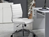 office-chair-white-leather-upholstery-rib-tufted-steel-frame-adjustable-work-from-home-furniture-modern-style-1